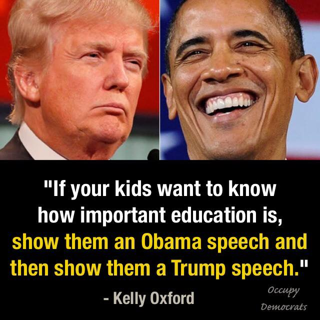 #ObamaGate  Kids-education-trump-obama