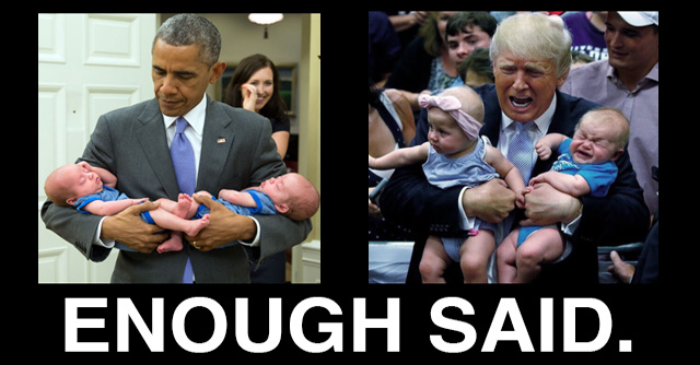 25 Hilarious Memes Proving Trump Will Never Measure Up to Obama