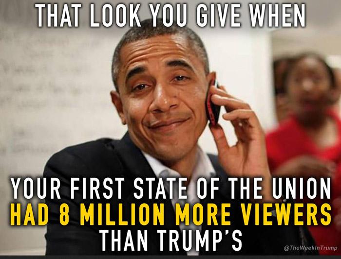 obama vs trump sotu 1 25 hilarious memes proving trump will never measure up to obama