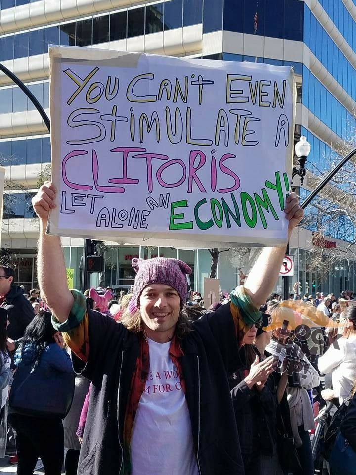 photo about Printable Women's March Signs named The 45 Funniest Signs or symptoms in opposition to the 2018 Womens March - The