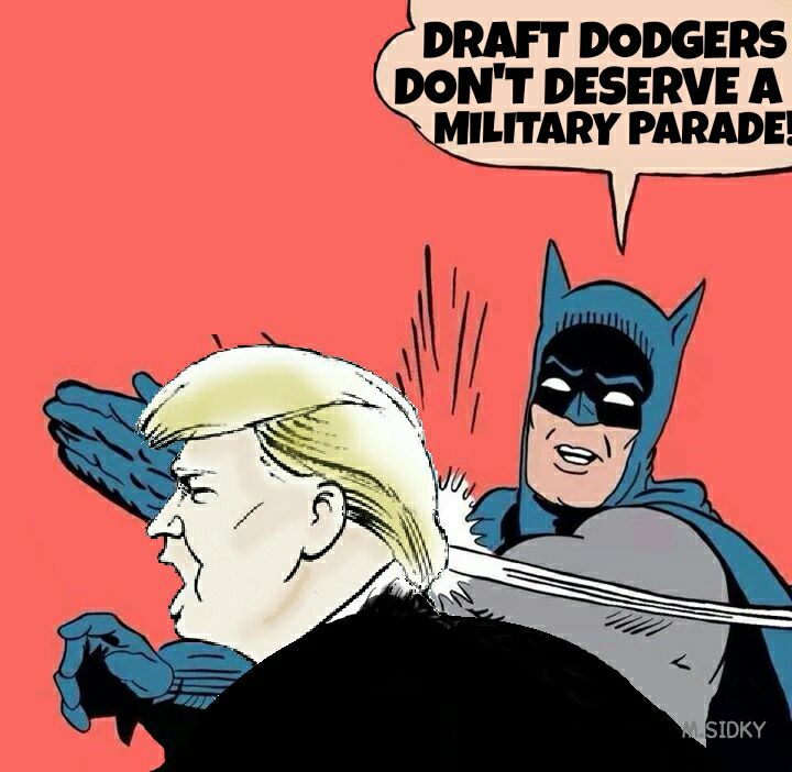 20 Hilarious Memes About Trump's Military Parade Obsession