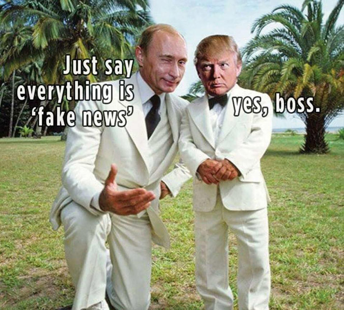 25 Brutally Hilarious Memes About the Trump-Russia Scandal