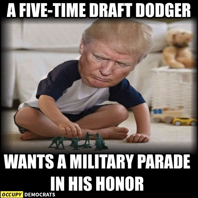 20 Hilarious Memes About Trump's Military Parade Obsession ...