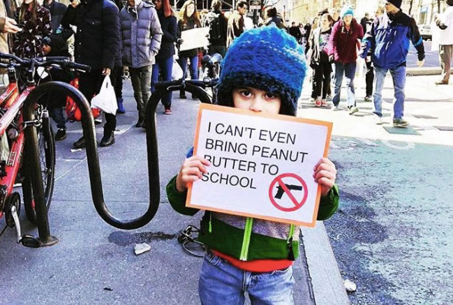 The 30 Funniest Protest Signs from the March For Our Lives