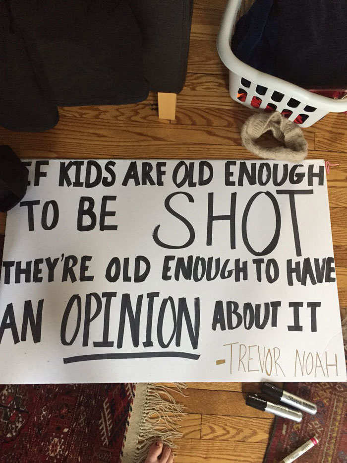 30 Funniest Protest Signs at the March For Our Lives