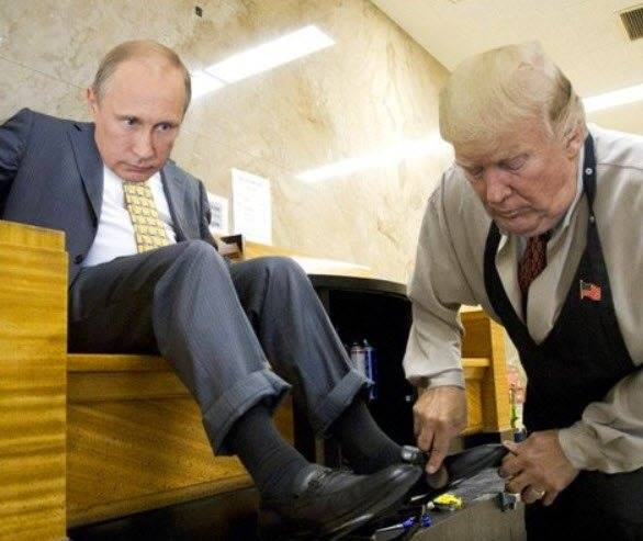 25 Brutally Hilarious Memes Proving Trump Is Putin's Puppet