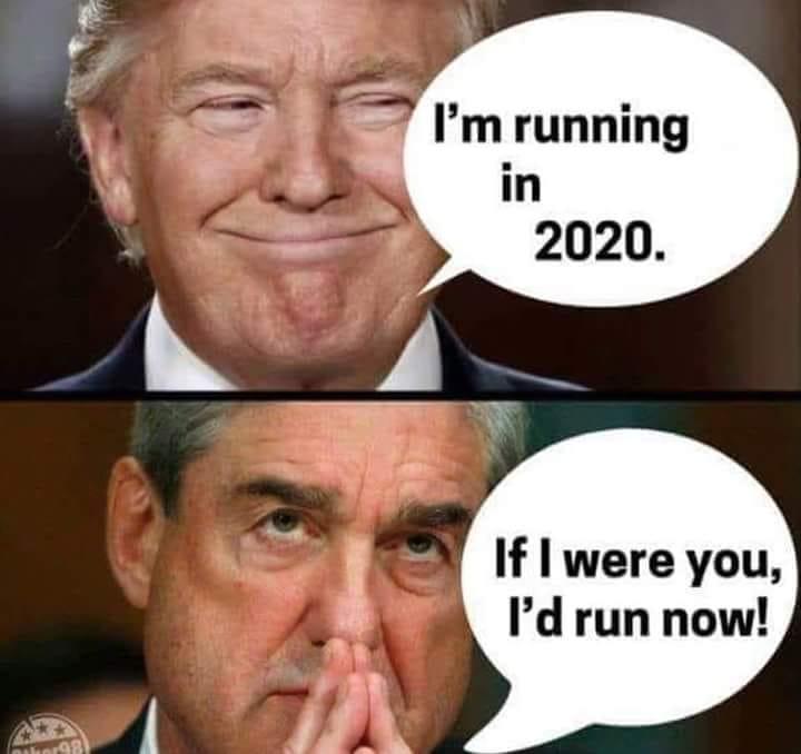 Trump Mueller Run Now The Political Punchline