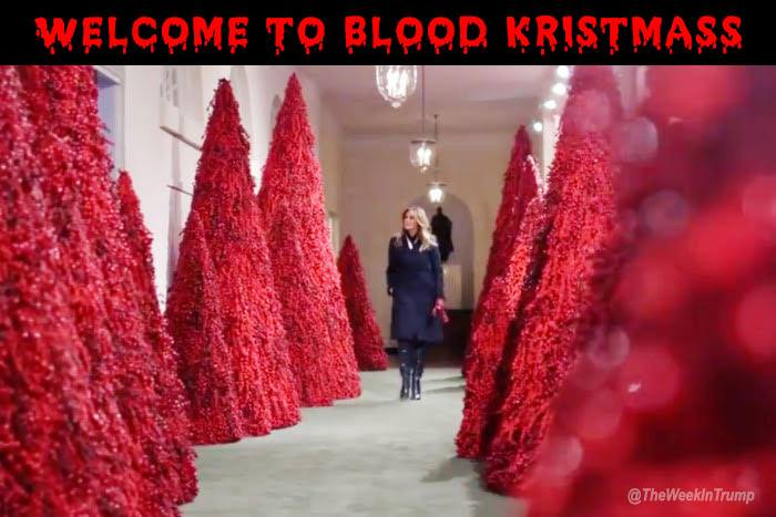 Funny Christmas Memes 2018.20 Hilarious Memes Mocking Melania Trump S Blood Red