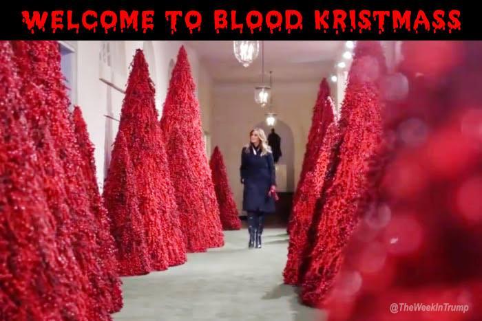Funny Christmas Memes 2018.20 Hilarious Memes Mocking Melania Trump S Blood Red