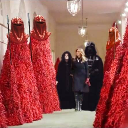 White House Christmas Decorations 2020 Funny -2019 20 Hilarious Memes Mocking Melania Trump's Blood Red Christmas