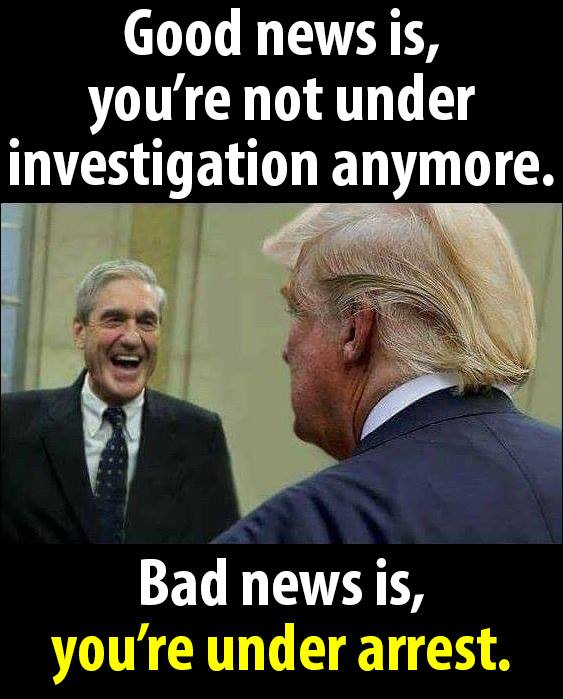 25 Brutally Hilarious Memes About the Trump-Mueller Showdown