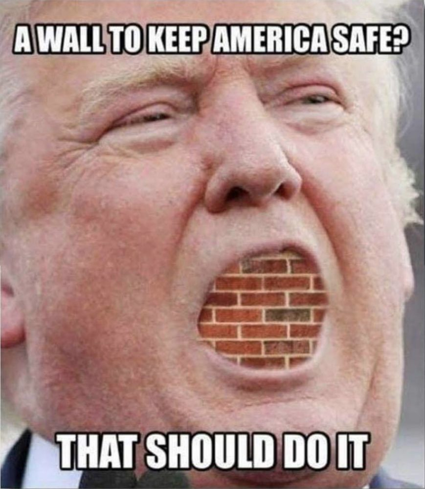 A roundup of the funniest memes and tweets about president donald trumps proposed border wall with mexico