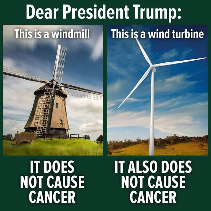 trump-windmills-ear - The Political Punchline