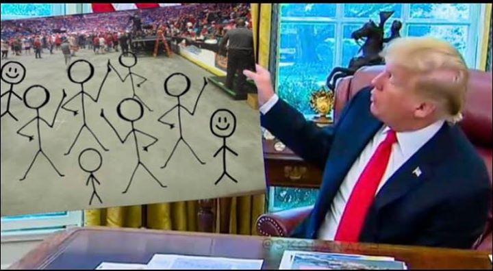 40 Brutal Memes Mocking Trump's Humiliating Tulsa Rally